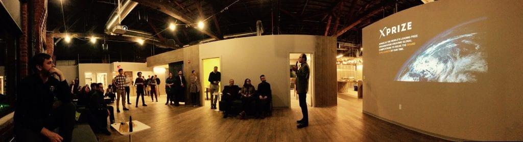 Amir Banifatemi speaks at Ascender