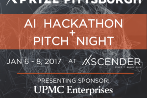 XPRIZE Pittsburgh AI Hackathon promo square