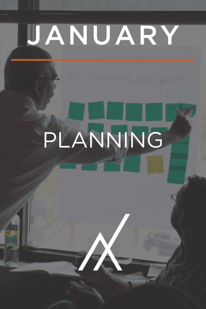 January 2021 - Planning